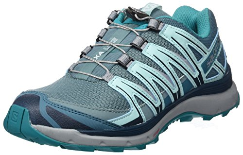 Salomon XA Lite W, Scarpe da Trail Running Donna, Blu (Trellis/Reflecting Pond/Tropical Green), 38 EU
