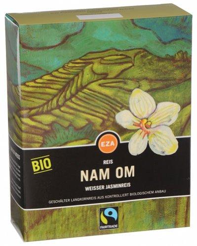 Fairtrade EZA Nam Om Bio Jasmin-Reis weiß - 1000gr - 6x