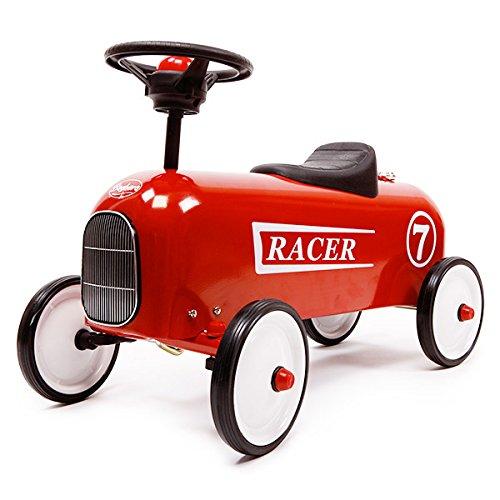 Preisvergleich Produktbild Baghera 801 - Rutscher Racer,  rot, Metall, 57x35x40 cm, 1-3 Jahre, Rutschauto