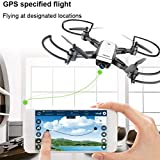 Spritumn LH-X28GWF Dual GPS FPV Drone Quadcopter with 1080P HD Camera Wifi Headless Mode - Follow Me, Altitude Hold, Intelligent Battery, Long Control Distance by Spritumn
