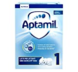 Aptamil 1 Latte in Polvere per Lattanti - Pacco da 4 Pezzi