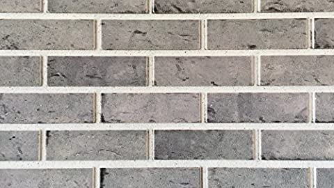 Wandverkleidung in Steinoptik als Wandstein für Ihre Wand I Styroporpaneele/Wandpaneele mit richtiger Steinoberfläche 120cm x 50cm x 2cm I Trendline Modern 5417
