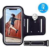 Mpow Running Armband for iPhone XS XR X 8 7 6s 6, Sweatproof Running Phone Armband Sports Armband with Key Holder and Extension Strap, Suitable for iPhone X 8/7/ 6S/ 6 Up To 6.1 Inches