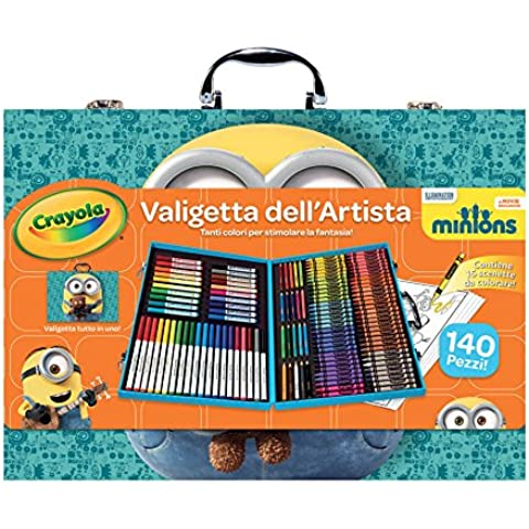 Crayola 04-5869 Valigetta dell'Artista Minions