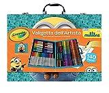 Crayola nbsp;–04-5869–Set für Kreative Freizeitgestaltung–Künstler-Malkoffer–Minions