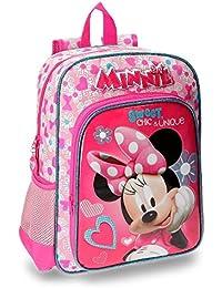 Disney Minnie Fabulous Mochila Escolar, 38 cm, 13.22 Litros, Rosa