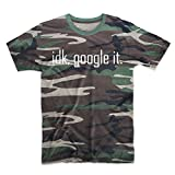 Idk, Google It Komisch Search Cool Tarnung Herren T-Shirt Camo Large