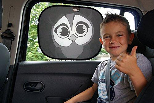 Sonnenschutz Auto Sonnenblende Auto Baby und Kinder - Universelle Größe 44 x 36 cm für Seitenfenster, UV- und Hitzeschutz Einfach anzubringender Kinder Auto Sonnenschutz -