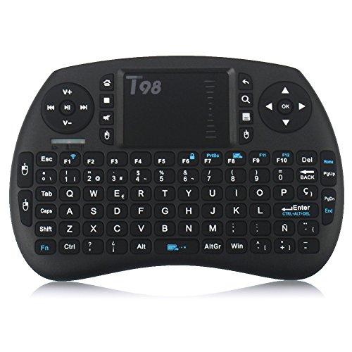 qcoqce-mini-teclado-inalambrico-t98-qwertytiene-n-con-touchpad-92-teclas-y-bateria-de-iones-de-litio