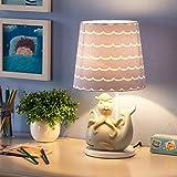 Kindertischlampe Schlafzimmer Nachttischlampe Cartoon Junge Mädchen Geschenk Prinzessin kreative süße Kinder Zimmer Lampen (Farbe : Dimmer)