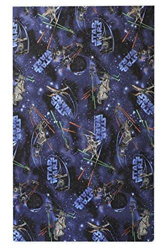 havatex Kinderteppich Star Wars - Farbe: Blau | Spielteppich schadstoffgeprüft und pflegeleicht | schmutzabweisend & strapazierfähig | Kinderzimmer Spielzimmer, Farbe:Blau, Größe:100 x 150 cm