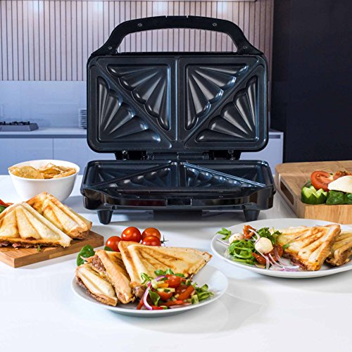 Beldray EK2017SBGP Deep Fill Sandwich Toaster, 900 W