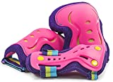 SFR Essentials Triple Pad Set Knee/Elbow/Wrist Pads Inline/Quad/Ice Skates- Tropical