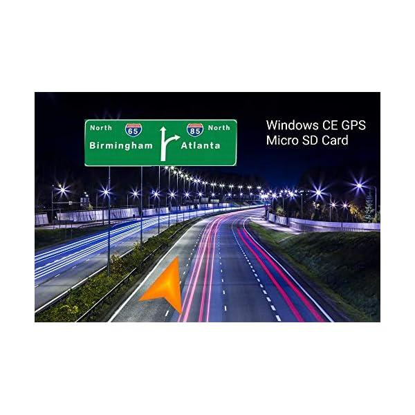 2018 Maps GPS Sat Nav Software for Windows CE Car Head Unit Devices Micro Card – XTRONS – Eonon etc Sat Nav Maps 51aKJnHIUuL
