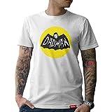 #PAPA: Original HARIZ® Collection T-Shirt // 36 Designs wählbar // Weiß, S-XXL // Inkl. Urkunde, Geschenk I Vatertag I Geburtstag I Weihnachten #Papa16: Dadman L