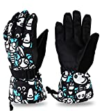 KnSam Outdoor Gloves Womens Gloves Knit