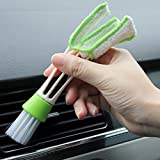 #5: Ocamo Double-Head Microfiber Car Cleaning Brush Air-Condition Outlet Dashboard Clean Tools