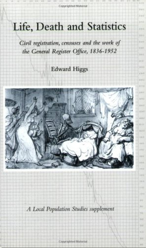 Life, Death and Statistics: Civil Registration, Censuses and the Work of the General Register Office, 1836-1952 (Local Population Studies Supplement) Local-register