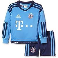 adidas Kinder Bekleidungsset FC Bayern München Mini-Heimausrüstung Torwart