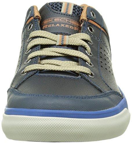 Skechers Diamondback Rendol, Baskets Basses Homme Bleu (Marine)