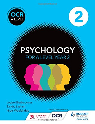 OCR Psychology for A Level Book 2 (Ocr a Level Psychology) for sale  Delivered anywhere in UK