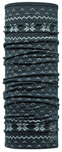 Buff Set 100% Merino Multifunktionstuch + UP® Ultrapower Multifunktionstuch | Unisex | Sturmhaube | Schal | Kopftuch | Halstuch | Schlauchschal, Design:Floki