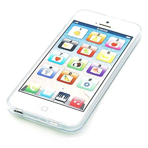 Cooplay English blanco 1: 1 Juguete de la música yphone y-phone Play