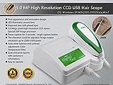 jiahao Digital 5.0MP Hohe Auflösung USB Haar Scope Analyse/Analysegerät W 200x Haar Objektiv