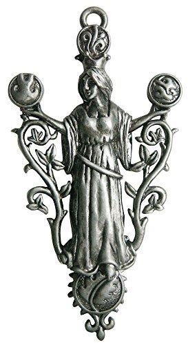 Die Ur-Gaia- für Frieden und Ruhe - Greenwood Anhänger Kollektion von Briar - werden mit einem schwarzen Halsband in einem Satinbeutel geliefert - Gaia Kollektion