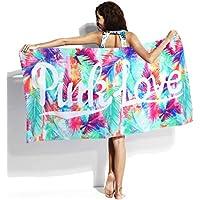 Zilee Mujer Toalla de Baño de Playa - Adulto 100% Algodón Secado Rápido  Manta de 9c0238bc29d