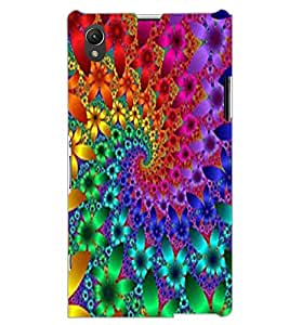 SONY XPERIA Z1 ILLUSSION Back Cover by PRINTSWAG