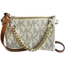 Michael Kors MK Signature Fanny Pack - Bolsa para cinturón (tamaño ...