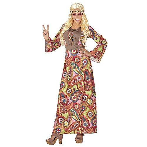 Widmann 06544 Erwachsenenkostüm Hippie, XL