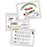 TRIOLA LIEDERBUCH BAND 4 - 11 deutsche Kinderlieder für die Triola - jetzt auch für Mundharmonika inkl. Spielanleitung
