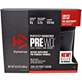Dymatize Nutrition Pre‐WO - 400 g (Chilled Fruit Fusion) Sports Supplements at amazon
