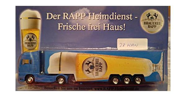 1x1 Brauerei Rapp, Brauereilaster, Werbetruck, Trucks, Lkws ...