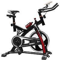 Preisvergleich für K-Y Indoorcycling Bikes Indoor-Fahrrad, 10 kg Schwungrad, Einstellbarer Widerstand, Verstellbarer Griff und Sitz.
