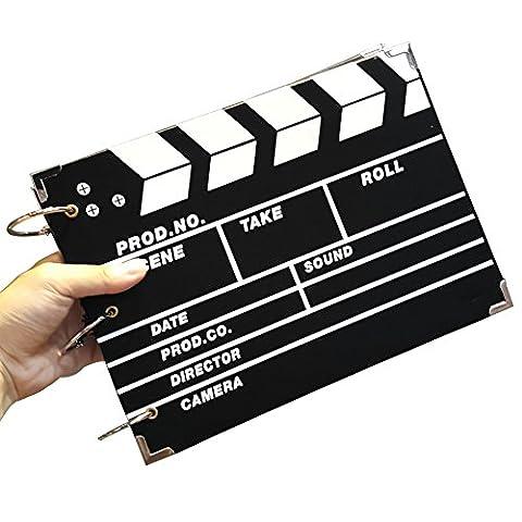 osunp Album photo Scrapbooking DIY Scrapbooking Film Clap cinéma Taille