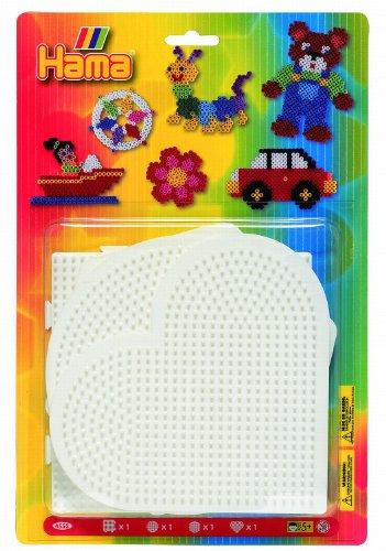 Hama 4552 - 4 tableros de piezas grandes