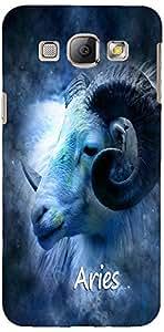 PRINTVISA Zodiac Aries Case Cover For Samsung Galaxy A8