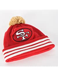 Mitchell and Ness - - San Francisco 49ers Pom Beanie in Main Team Farbe