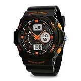 TOPCABIN Jungen Uhren Mädchen Uhren Kinder Mode Einfach LED Analog Sportuhr Digital Armbanduhr Wasserdichte Casual Uhr Silikonband Kalender Wecker für