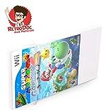 10 Klarsicht Schutzhüllen für Nintendo Wii Games in Originalverpackung - Passgenau und Glasklar - PET - Retro-Doc Game Protectors - WiiU - Extra Laschen - Bessere Optik