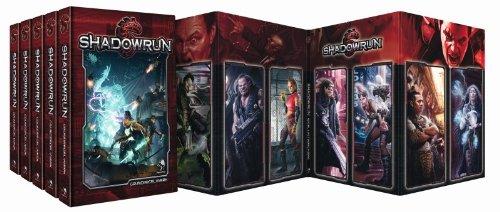 Shadowrun, 5. Edition Spielgruppen-Bundle + HC-Sichtschi Hc-bundle