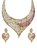 Zaveri Pearls Multicolor Non-Precious Me...