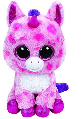 Glubschi - Einhorn pink, Large 24 cm, mit Glitzeraugen, Glubschi's, Beanie Boo's, Valentin limitiert