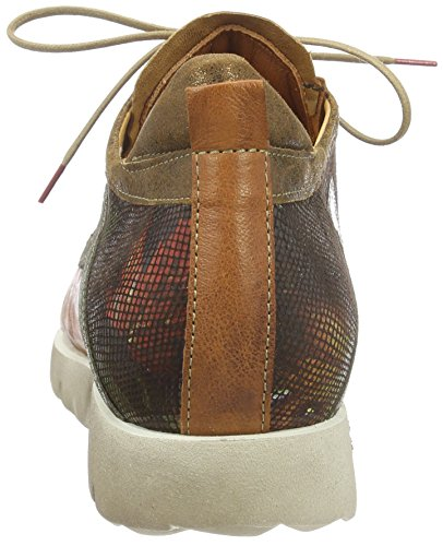 Think! Renna, Baskets Basses Femme Marron - Braun (KASTANIE/KOMBI 46)