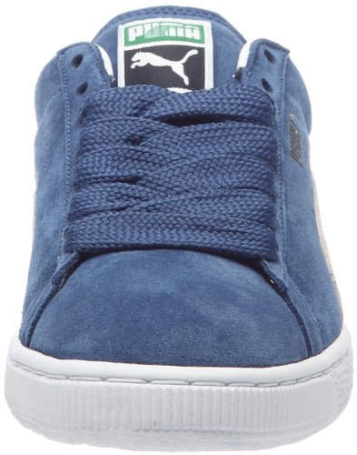 Puma Suede Classic+ , Baskets Basses Mixte Adulte Bleu (Ensign Blue/White)