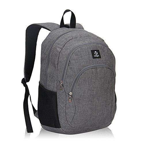 Imagen de veevan school bags  para niños  para universitarios  para portátil para niñas gris alternativa