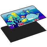 Outtybrave Sommer-Universal-Sonnenschutzvorhang, doppelschichtig, mit Cartoon-Motiv, magnetisch